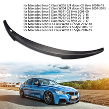 Carbon Fiber Car Rear Spoiler Wing for Mercedes Benz C/E/CLS/GLC/GLE Class W205 W211 W212 W204 W213 W207 W218 W253 W292 CS Style