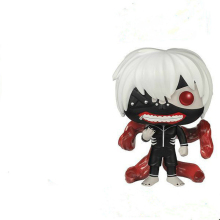 Funkoed pop 61: a q-version hand-made model of Tokyo ghoul and Kingwood research awakening centipede