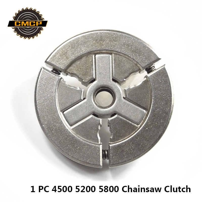 1pc Chainsaw Clutch Drum Fit For 4500 5200 5800 Chainsaw Spare Parts Clutch 66x10mm Chainsaw Accessories Replacement
