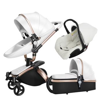 3 w 1 wielofunkcyjny wózek dziecięcy składany wózek wózek dla dziecka wózek dziecięcy składany wózek spacerowy wózek podróżny noworodek tanie i dobre opinie W wieku 0-6m 7-12m 13-24m 25-36m 4-6y CN (pochodzenie) 906-White 25 kg 0-6 Years old