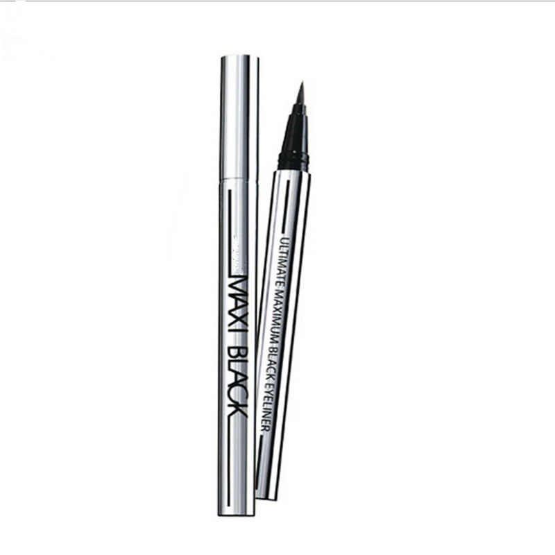 1 PCS Hot Ultimate Black Liquid Eyeliner Long-lasting Waterproof Eye Liner Pencil Pen Nice Makeup Cosmetic Tools New 2019