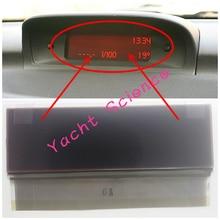 Araba seyahat bilgisayarı bilgi LCD ekran piksel onarım Peugeot 307 Citroen C5 Xsara Picasso