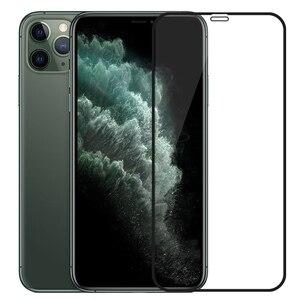 Image 1 - 아이폰 11 프로 맥스에 대한 3d 강화 유리 아이폰 xr x xs에 최대 전체 커버 화면 보호기 아이폰 11pro 2019 에 대한 보호 유리