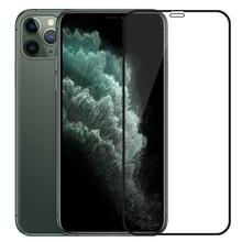3D الزجاج المقسى لفون 11 برو ماكس على فون XR X XS ماكس كامل غطاء واقي للشاشة زجاج واقي ل فون 11Pro 2019