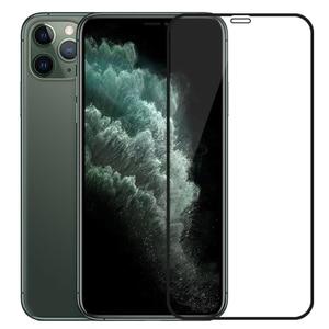 Image 1 - 3D temperli cam iPhone 11 Pro Max iPhone XR X XS Max tam kapak ekran koruyucu koruyucu cam iPhone 11Pro 2019
