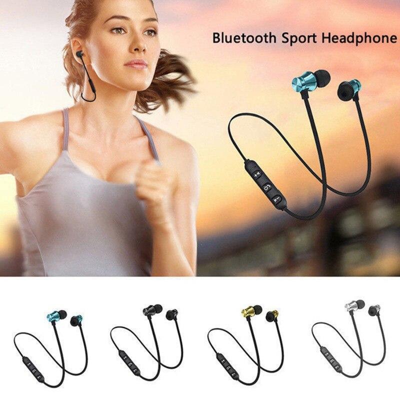 Магнитные беспроводные Bluetooth наушники XT11 Спортивные Беспроводные Bluetooth наушники для IPhone 6 8X7 Xiaomi Hands Free