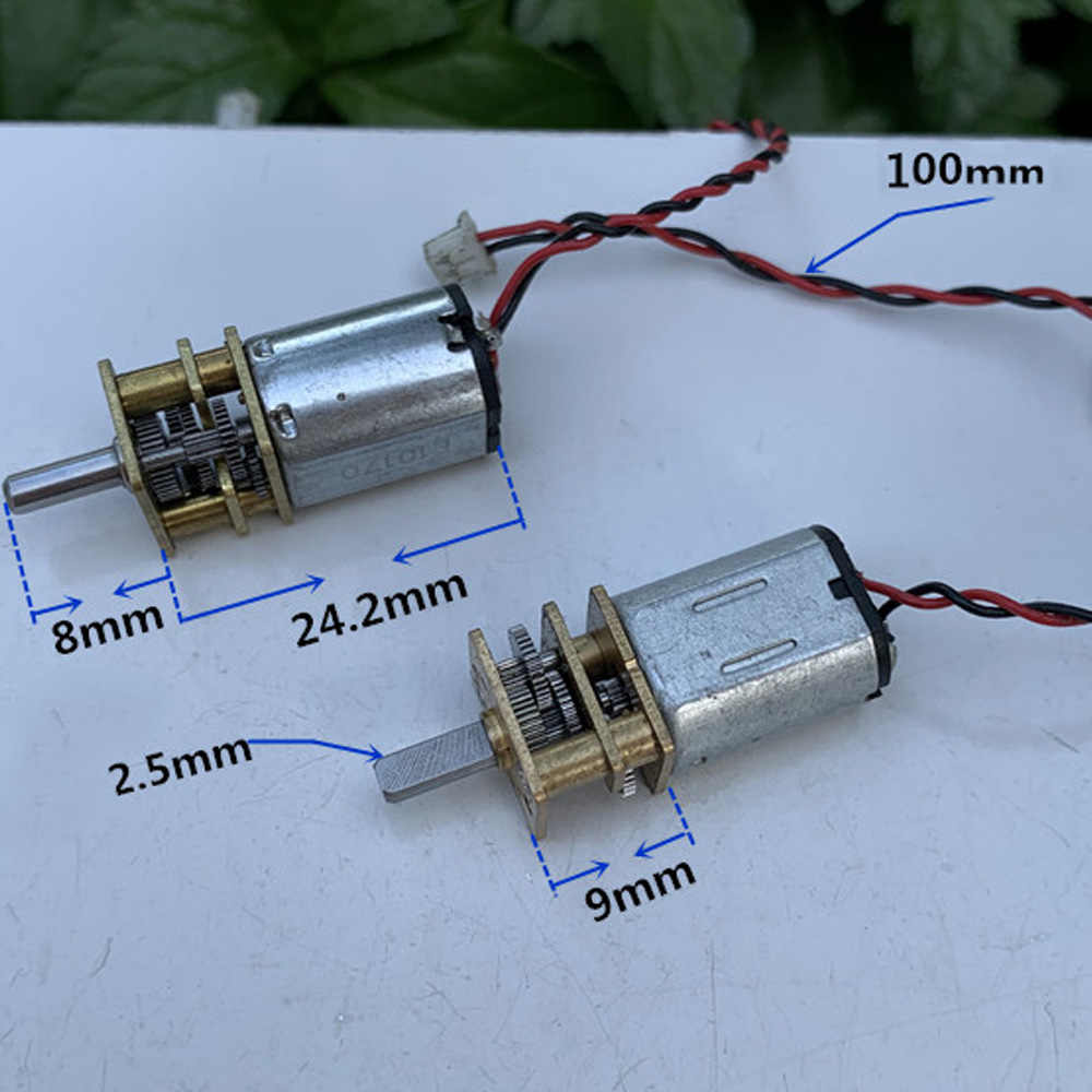 Micro N20 มอเตอร์ DC 3V 6V 70RPM แรงบิดสูงไฟฟ้ามอเตอร์โลหะขนาดเล็กเกียร์ Precision Gearwheel รถประตูล็อคอิเล็กทรอนิกส์