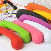 New Fashion Mic Retro Telephone Cell Phone Handset Receivers Fancy Gift Mobile Phones Receiver SP99(China)