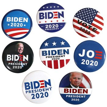 New Bernie 2020 Supporters Brooch Pin America Great For Presidential Election Lapel Pins Bernie Biden Badges image
