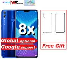"Honor 8X smartphone mobile phone 6.5"" full Screen OTA update Smartphone Mobile phone Android 8.1 Octa Core fingerprint ID"