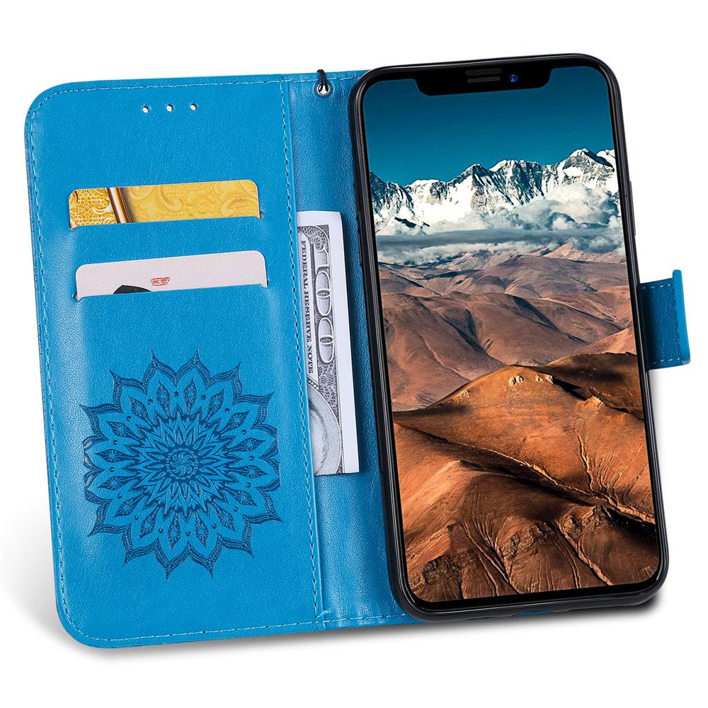 Luxury Flower Wallet Flip Case for iPhone 11/11 Pro/11 Pro Max 26