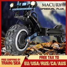 Macury Speedual Plus 11 Zoll Dual Motor Elektrische Roller 72 V 3200 W Off-road E-roller 110 km/h Doppel Stick Null 11X Off Road(China)