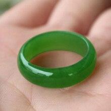 Прямая женские красивые ювелирные изделия высокого качества зеленый Hetian Jades мужское кольцо для женщин модные ювелирные изделия