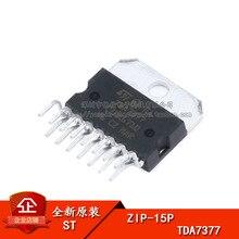 2 pçs original tda7377 ZIP 15P amplificador de potência amplificador de áudio