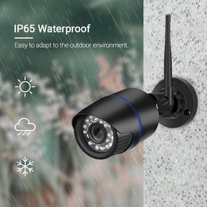 Image 5 - Hamrotte cámara IP impermeable para exteriores, Wifi HD 1080P, Audio de visión nocturna, alerta de registro, correo electrónico, RTSP Xmeye Cloud iCSee