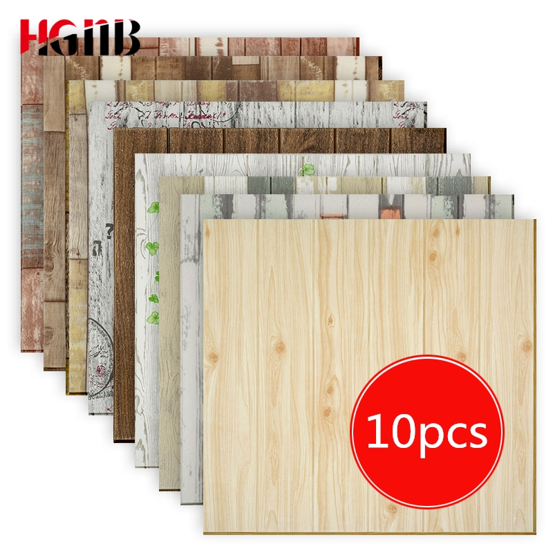 3d Wood Grain Wall Paper Tv Background Wall Skirt 3d Wallpaper For Living Room Wallpaper Waterproof Wall Decorated Bedroom
