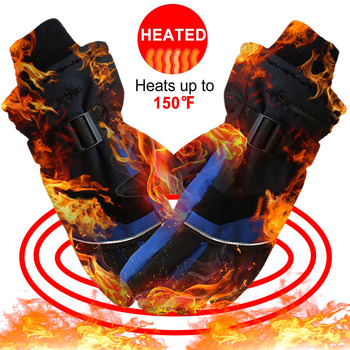 Sale Winter Hand Warmer Electric Thermal Gloves Rechargeable Battery Heated Gloves Cycling Motorcycle Bicycle Ski Gloves D30 3000mah rechargeable battery pu leather windproof winter warm ski outdoor work motorcycle cycling electric heated hands gloves