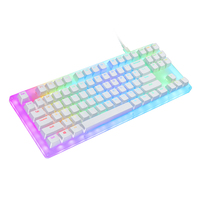 Womier 87 schlüssel K87 Mechanische Tastatur 80% 87 TKL PCB FALL heißer swap schalter unterstützung beleuchtung effekte mit RGB schalter led