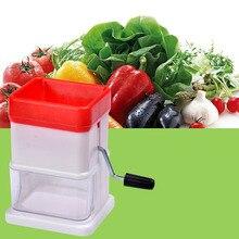 цена на 2018 NEW Manual Food Chopper Household Vegetable Chopper Shredder Multifunction Food Processor Crusher Blender