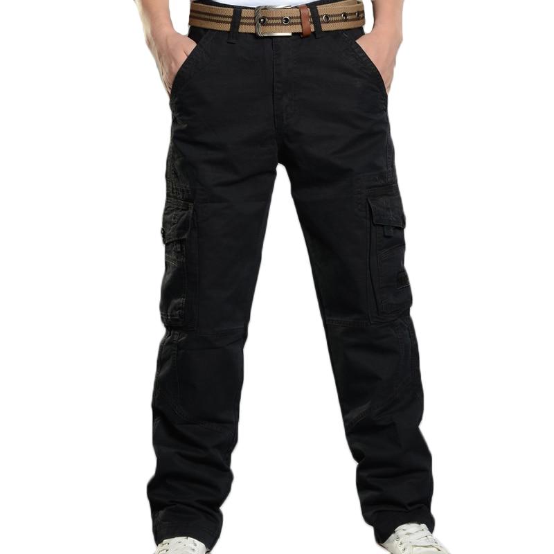Cargo-Pants-Men-Casual-Baggy-Multi-Pockets-Pants-Pantalon-Homme-Male-Streetwear