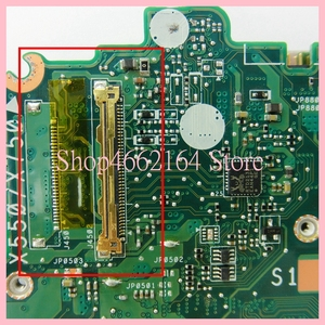 Image 3 - X550ZA anakart REV2.0 ASUS X550ZA A10 7400CPU Laptop anakart X550 X550Z X550ZE dizüstü anakart tamamen test edilmiş