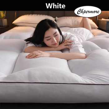 Chpermore Feather velvet Mattress Foldable Solid color Tatami Single double Mattresses Keep warm in winter King Queen Size