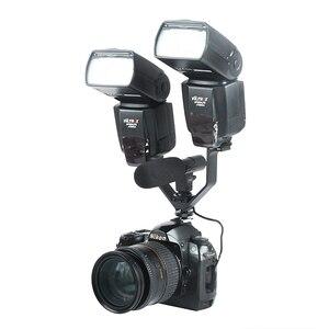 Image 3 - Viltrox VL 125 125mm DSLR Triple chaussure chaude V support de Flash pour lumières vidéo Microphones moniteurs à caméras caméscopes