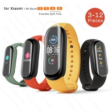 Protective-Film Mi-Band Screen-Protector Band2-Films Hydrogel Full-Cover Xiaomi for 5/4/3/..
