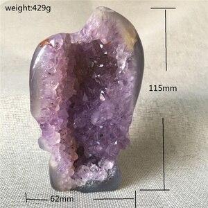 Натуральный агат, геодезический череп, кварцевый кристалл для продажи, камни и кристаллы, украшение для дома, декоративные Кристальные чере...