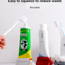 Toothpaste-Dispenser Tube-Squeezer Rolling-Holder Bathroom-Accessories Multi-Functional