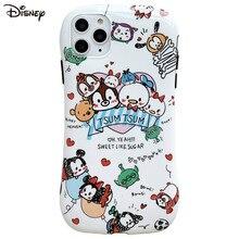 Coque de téléphone originale Disney pour iPhone, dessin animé, pour modèles 7/8/ Plus X/XS/XR/XS Max 11/11 Pro / 11Pro Max
