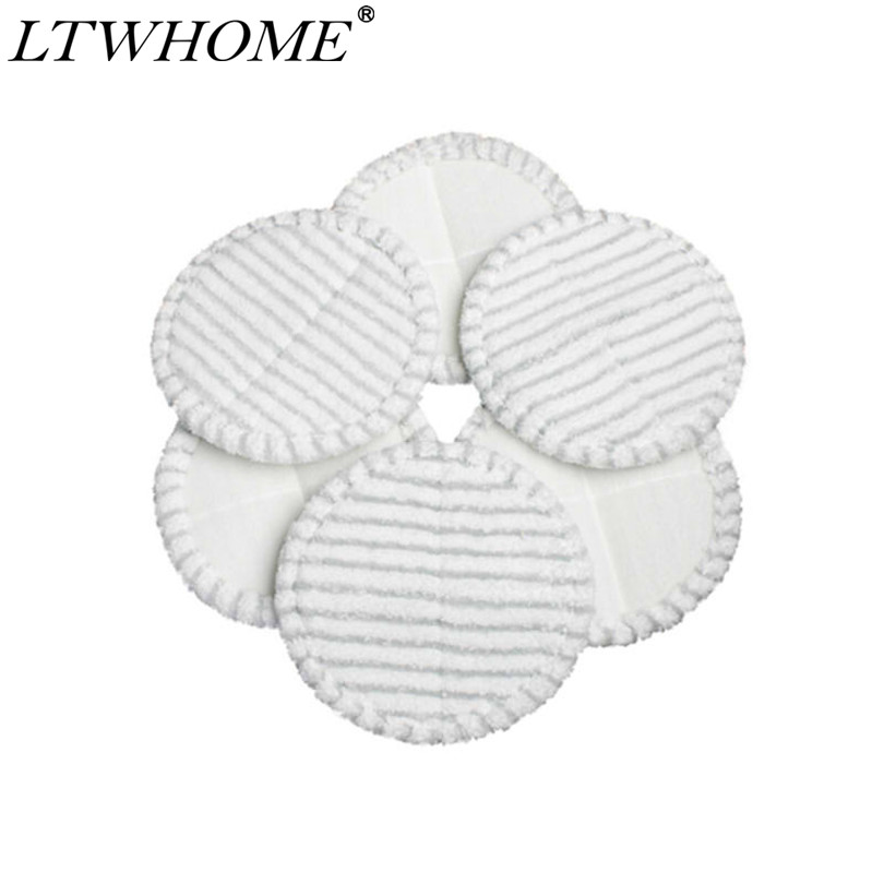 LTWHOME 7.8 Inch Scrubby Mop Pads Fit for Bissell Spinwave 2039 Series 2039A 2124 Pack of 6