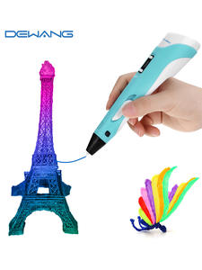 DEWANG 3D Pen for Children 3D Drawing Printing Pen with LCD Screen Compatible PLA ABS