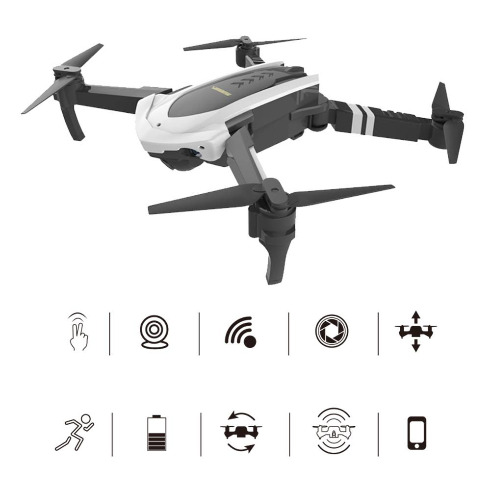 Folding Four-axis Aircraft Long Endurance Fixed Height Drone VR HD Real-time Aerial Remote Control Aircraft Gift For Kids