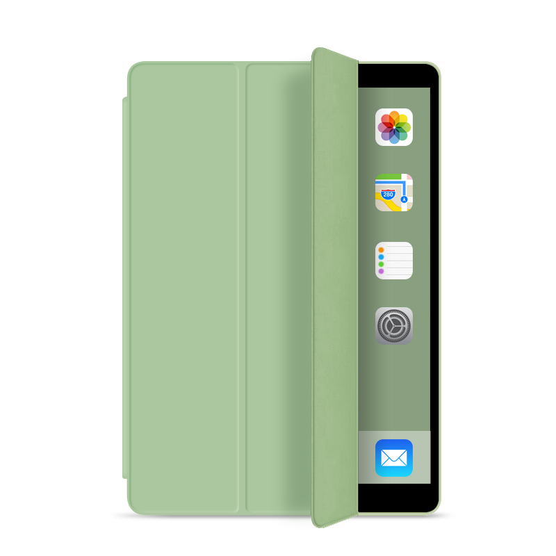 Case For New IPad 10.2 2019 7th Generation Funda Slim Magnetic Flip Folding Stand Silicone Soft Smart Cover For IPad 10.2 Case