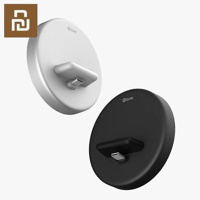 Youpin Panki kablosuz telefon standı şarj cihazı tip C 18W hızlı kablosuz şarj için Samsung Huawei xiaomi hızlı şarj tutucu