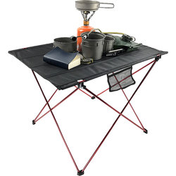 야외 테이블 초경량 휴대용 접이식 테이블 캠핑 피크닉 테이블 야외 바베큐 낚시 의자 접이식 책상