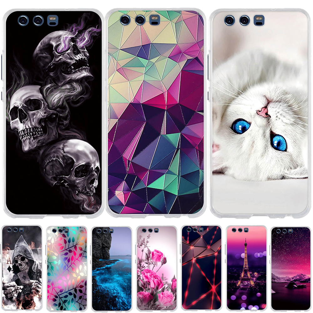 Case For Huawei P10 Case Silicone 3D Soft TPU Back Cover For Huawei P10 P 10 Cover Capa Coque Funda For Huawei P10 Phone Case