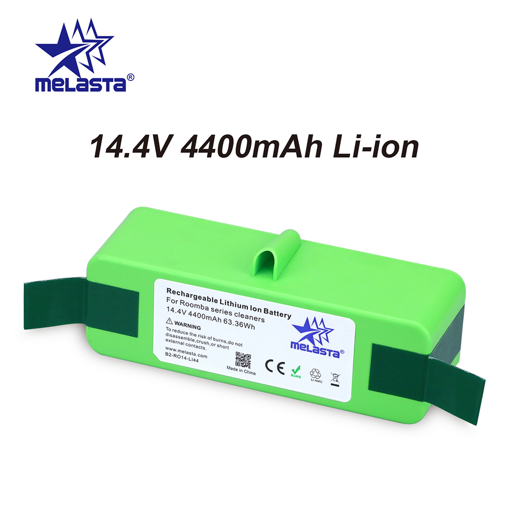 аккумулятор timberg 800a - 4.4Ah 14.4V Li-ion Battery with Brand Cells for iRobot Roomba 500 600 700 800 Series 510 530 550 560 650 770 780 790 870 880 R3