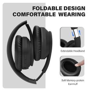 Image 3 - Oneodio A40 Draadloze Hoofdtelefoon Active Noise Cancelling Bluetooth Hoofdtelefoon V5.0 Anc Headset Met Microfoon Voor Telefoon Over Oor