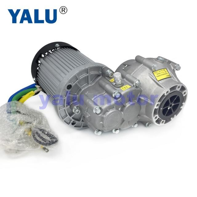 1500W 1800W 2200W 60V 72V Differential Elektrische Motorisierte Dreirad Rikscha BLDC Motor BM1424HQF für E trike Mini Elektrische Auto|E-Bike Zubehör|   -