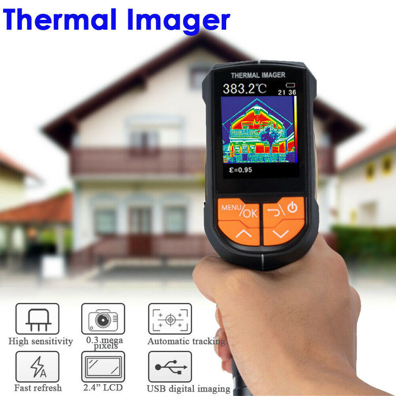Portable Red light Infrared Thermal Imager IR infrared thermometer LCD Display Camera Temperature Detector thermal Imaging Tools