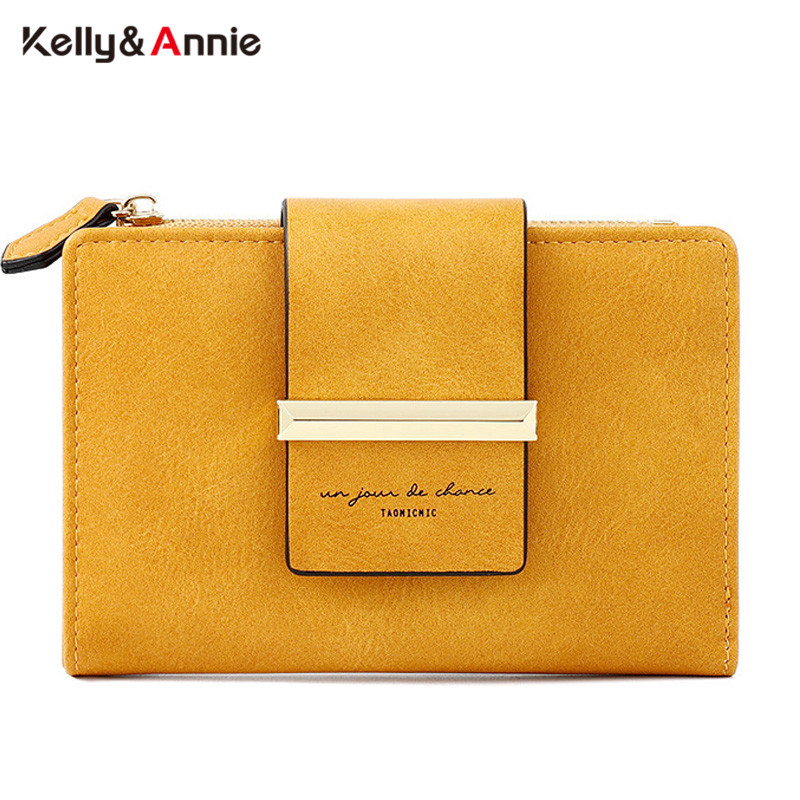 Brand Design Gemetric Wallet Leather Card Holder Zipper Coin Pocket Female Carteira Ladies Small Carteras Purse Wallet Women