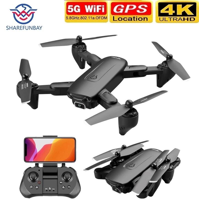 Dron F6 4K con GPS, 5G, WiFi, vídeo en vivo, FPV, Quadrotor de vuelo, 25 minutos de distancia, 2020 m, cámara Dual gran angular HD, novedad de 1000