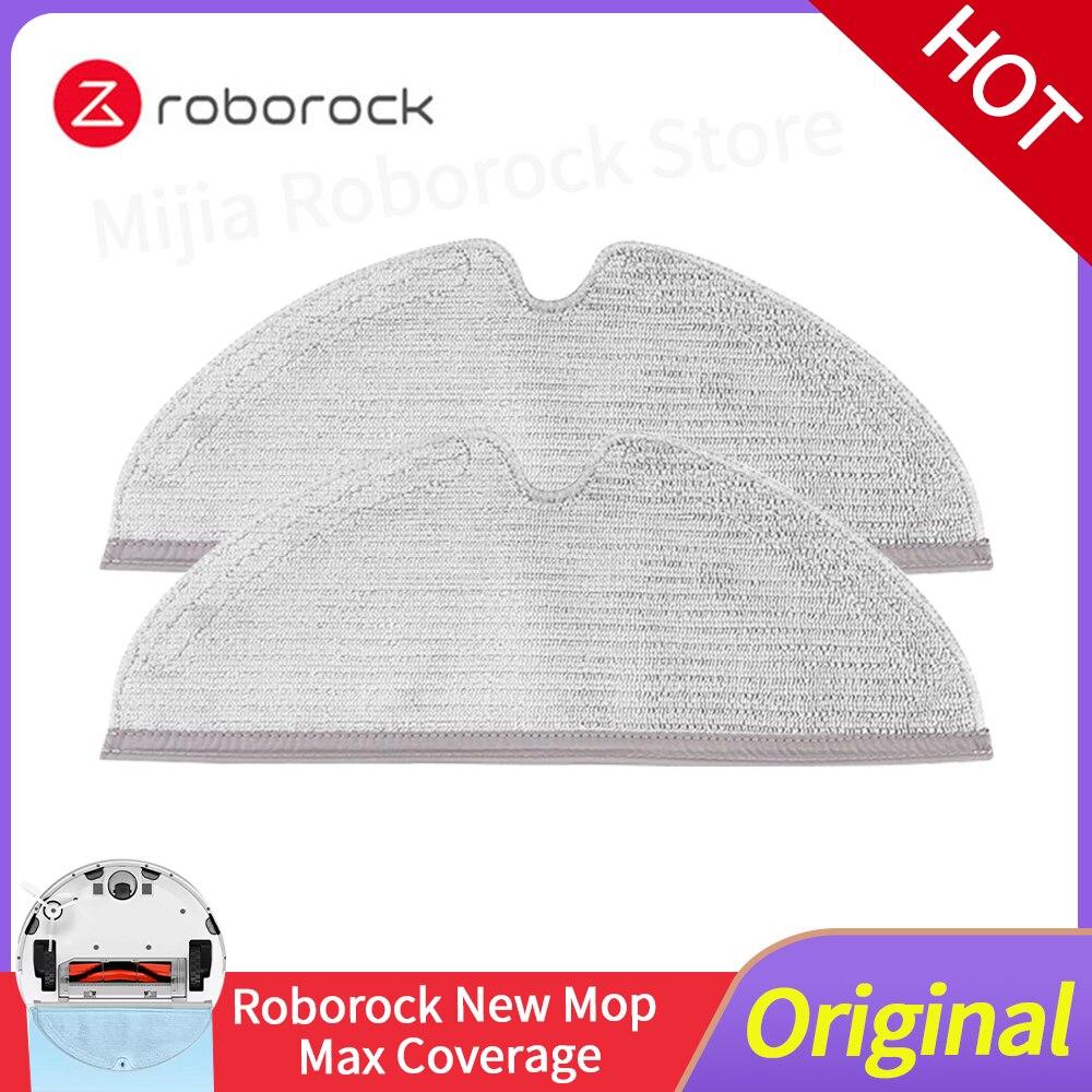 Original xiaomi roborock s5max s50 s51 s55 s60 s6 maxv aspirador de pó acessórios do robô novo pano limpeza mop substituição 4 pçs