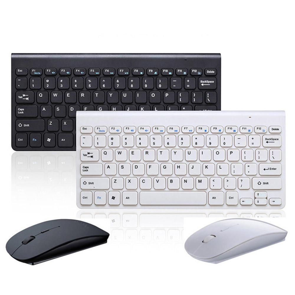 2.4GHz Wireless Keyboard + Wireless Mouse Combo Set For Laptop PC Desktop LHB99