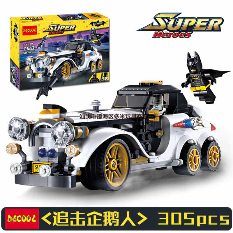 305pcs Compatible with Legoinglys Super Heroes Batman Building Blocks Toy Kit DIY Educational Children Christmas Birthday Gifts