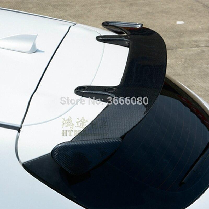 Para mazda 3 axela hatchback 2014-2017 estilo do carro universal estilo spoiler traseiro asa cauda tronco tampa capa auto decoração