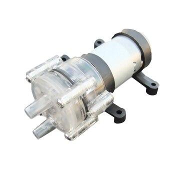 385 DC 6V-12V Mini pompa odporność na wysoką temperaturę 100 stopni celsjusza Mini mikropompa wody membranowa pompa wodna pompa próżniowa