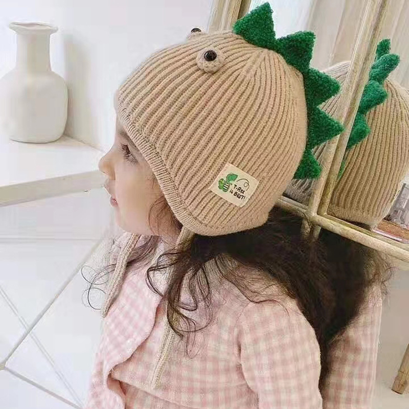 Hf6a08b370137497e996a524075195be3A - Spring Autumn Baby Baseball Cap Cartoon Dinosaur Baby Boys Caps Fashion Toddler Infant Hat Children Kids Baseball Cap